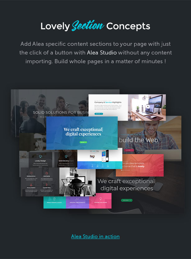 Alea - Business Multipurpose WordPress Theme - 7