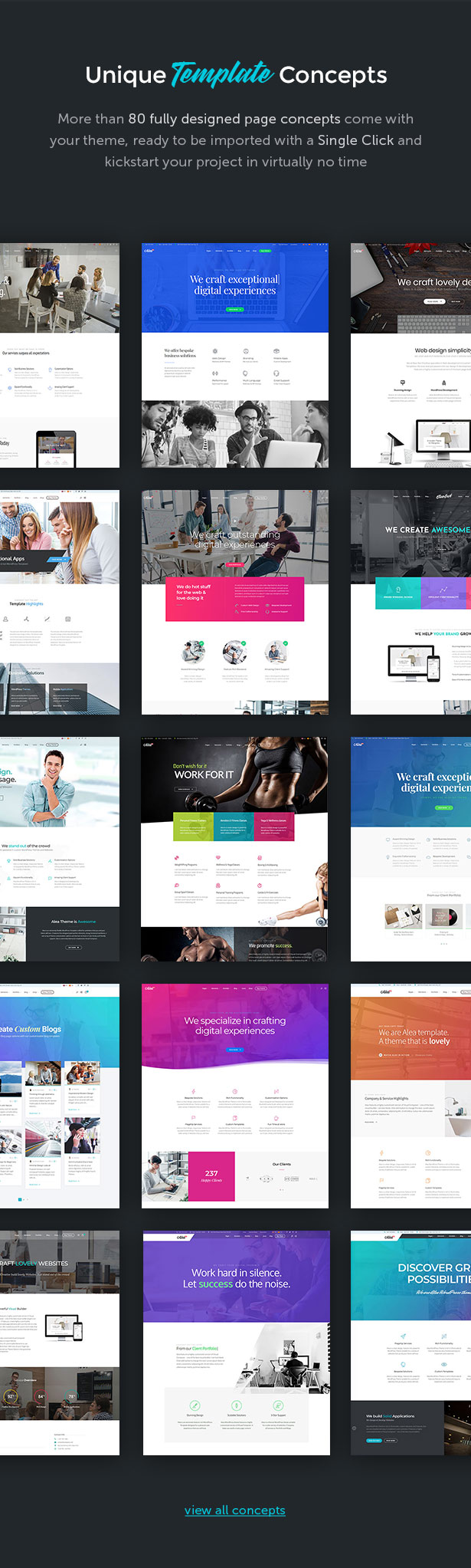 Alea - Business Multipurpose WordPress Theme - 4