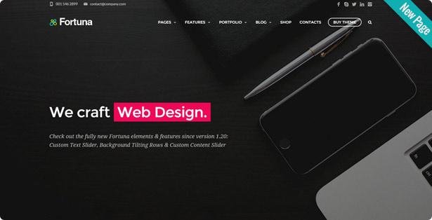 Fortuna - Responsive Multi-Purpose WordPress Theme - 9