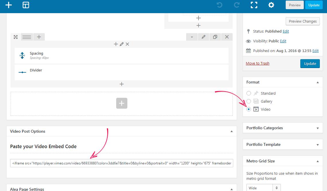 Alea WordPress Theme Documentation