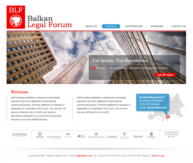 Balkan Legal Forum