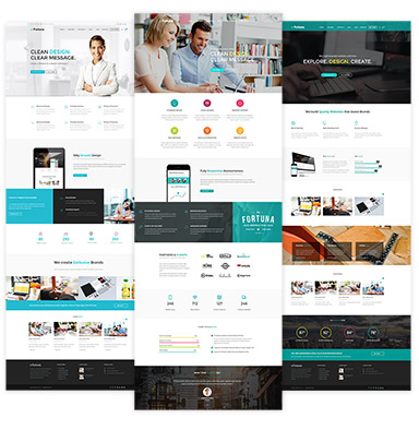 Fortuna - a Premium, Responsive Wordpress Theme